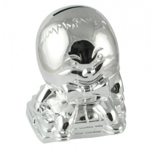 Humpty Dumpty Money Box Silver Plated
