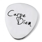 Carpe Diem Guitar Plectrum/Pick (can be personalised)