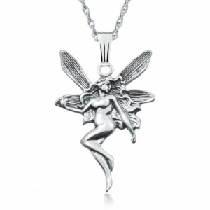 Fairy Sterling Silver Necklace/Pendant