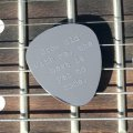 'Grow Old With Me,The Best Is Yet To Come' Guitar Plectrum/Pick - Stainless Steel (Metal) Personalised/Engraved