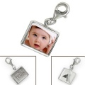 Real Photo Frame Sterling Silver Charm