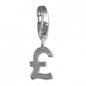 Pound Sign & Sterling Silver Charm