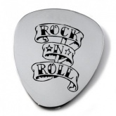 Rock N Roll Guitar Plectrum/Pick Personalised