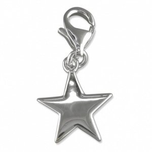 5 Pointed Star Sterling Silver Charm