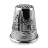 Tower Bridge Sterling Silver Thimble