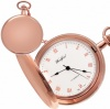 Ascona Rose Gold Pocket Watch, Hunter, Personalised, Woodford