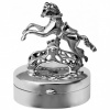 Working Rocking Horse Pill Box, Hallmarked Sterling Silver