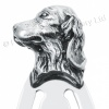 Dogs Head Bookmark, 925 Sterling Silver Hallmarked, Personalised