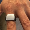 Men's Heavyweight Signet Ring, Personalised, Stainless Steel