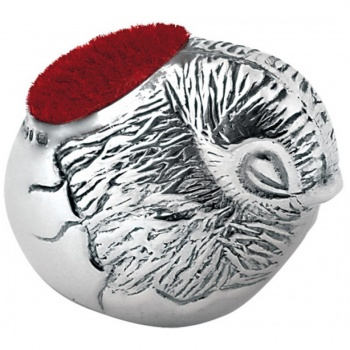 Bird Pin Cushion, Sterling Silver, Hallmarked