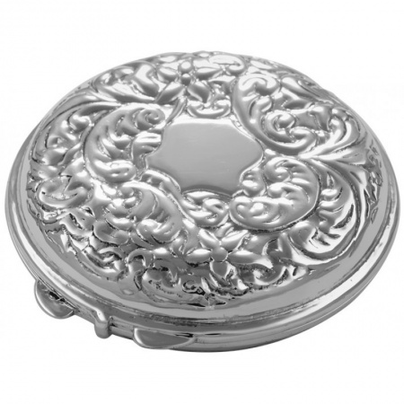 Victorian Style Ladies Handbag Mirror, Sterling Silver (can be personalised)