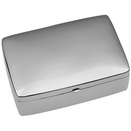 Large Rectangular Pill Box Sterling Silver (Engraving Available) ZOP