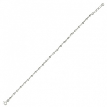 Beads Sterling Silver Anklet