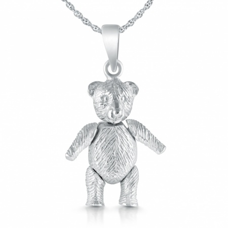 Large Teddy Bear Necklace