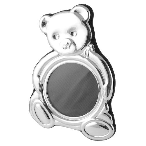 Teddy Bear Sterling Silver Photo Frame