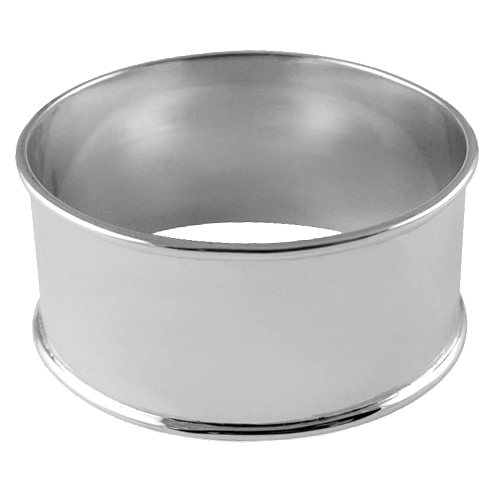 Plain Napkin Ring Sterling Silver (can be personalised)