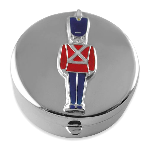 Toy Soldier Sterling Silver First Tooth or Keepsake Box