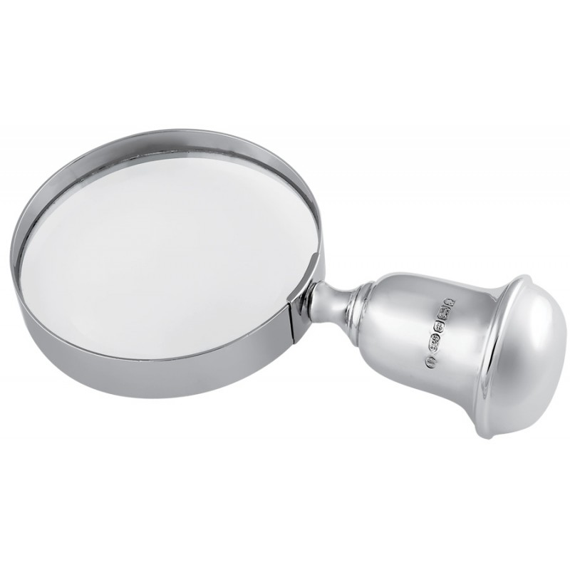 Magnifying Glass, Sterling Silver, Hallmarked
