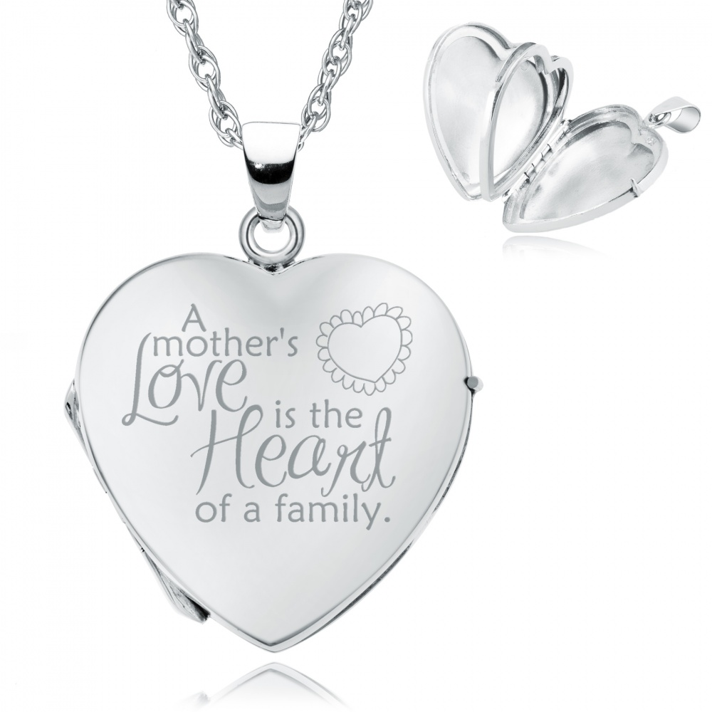 mother something necklace locket s sterling family loving lockets silver mothers pin