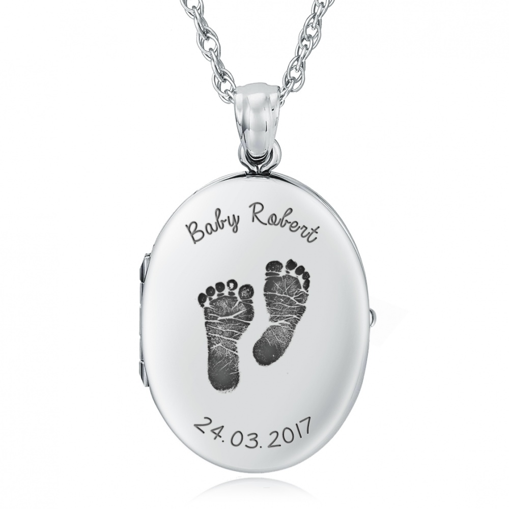 girl boy lockets baby index locket