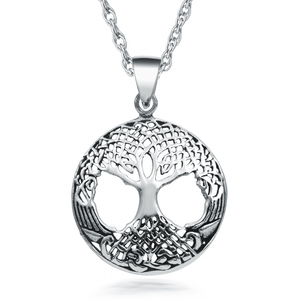 necklace enchanted the forest owl tree life products of and