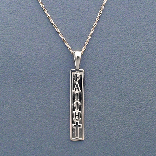 Faith Sterling Silver Necklace/Pendant