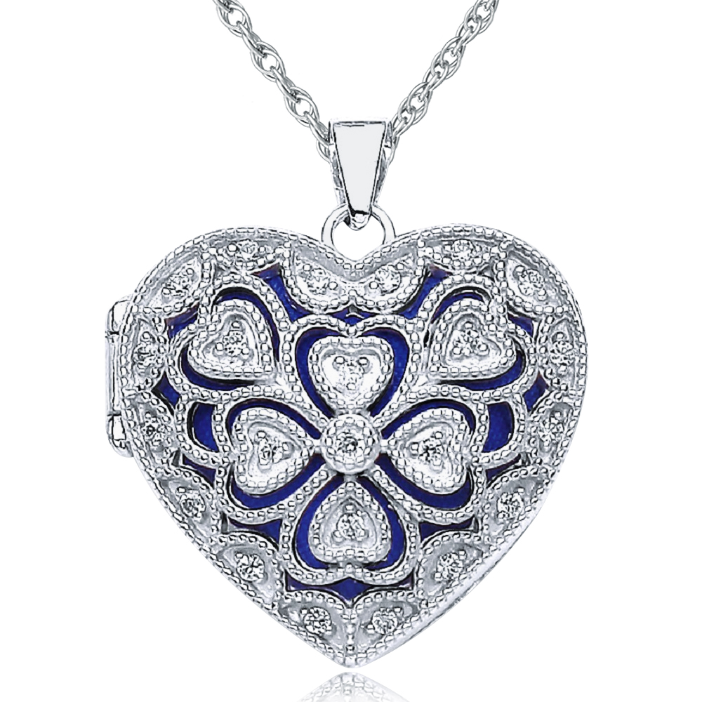 engraved bling locket silver pmr jewelry lockets leaf pendant sterling heartlocket heart