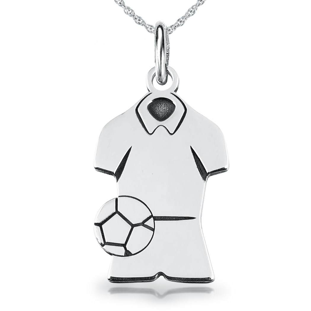 stainless steel silver pendant zestto football necklace product