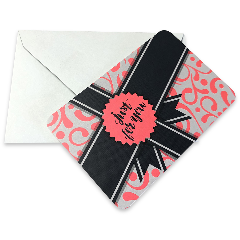 Gift Message, Card and Envelope
