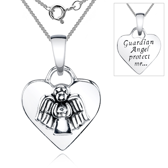 charm necklace wings angel quan products cassiel jewelry guardian