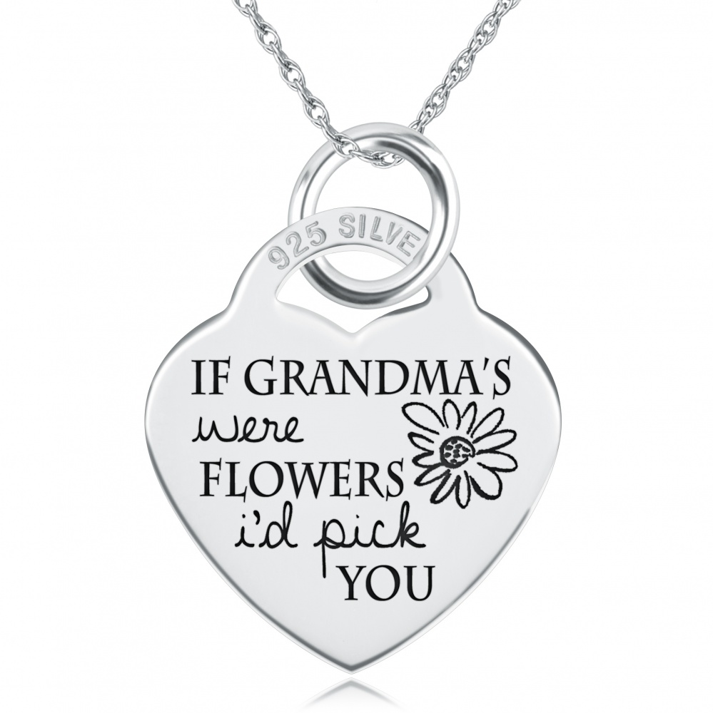 silver lockets kind dogeared grandma heart necklace