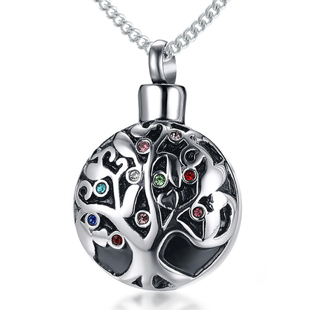 Tree of Life Ashes Locket Necklace, with Personalisation
