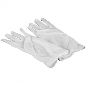 Silver Polishing Gloves. White Cotton