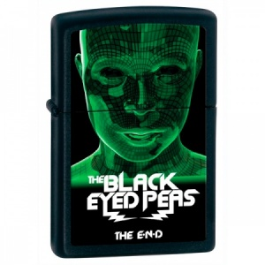 Black Eyed Peas Zippo Lighter, Black Matte (28026)