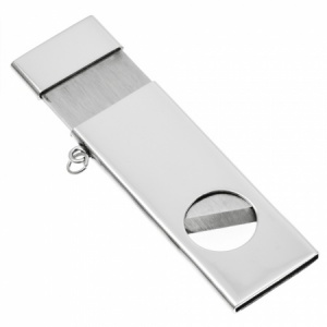 Guillotine Cigar Cutter Hallmarked Sterling Silver (can be personalised)