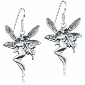 Fairy Drop Earrings, 925 Sterling Silver
