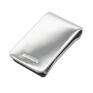 Heavyweight Money Clip, 925 Sterling Silver, Hallmarked (can be personalised)