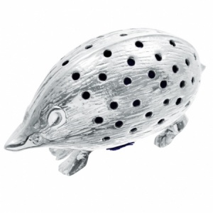 Hedgehog Pin Cushion, 925 Sterling Silver, Hallmarked