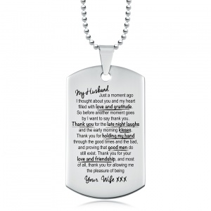 Personalised Dog Tags For Boyfriend Uk