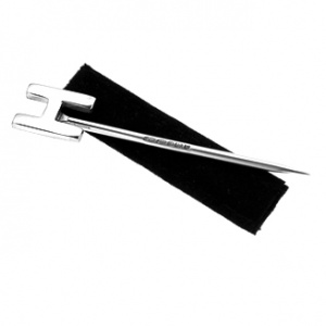 Initial/Letter Toothpick, 925 Sterling Silver, Hallmarked