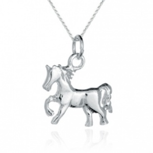 Pony Sterling Silver Necklace/Pendant