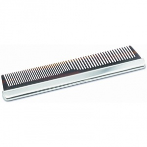 Gents Plain Comb Hallmarked Sterling Silver (can be personalised)
