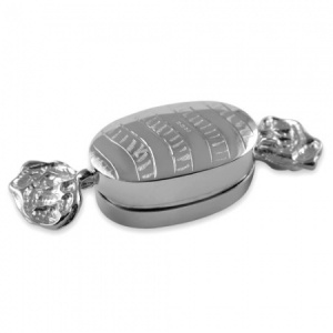 Sweetie Hallmarked Sterling Silver Pill Box