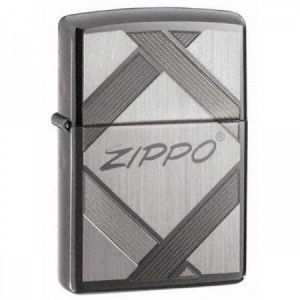 Unparalled Tradition Zippo Lighter, Black Ice (20969)